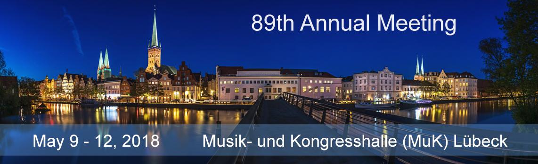 89th Annual Meeting 2018